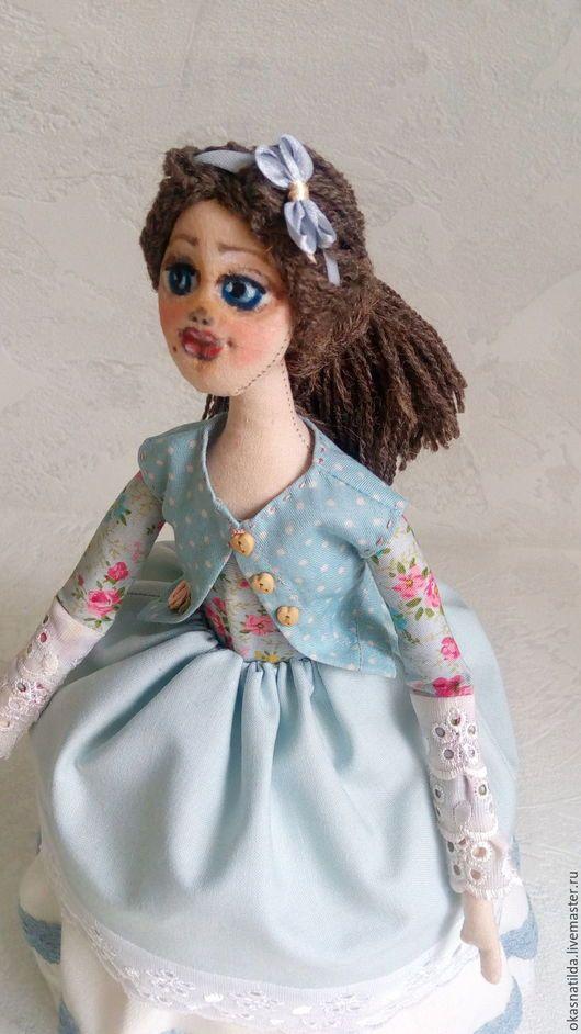 Коллекционные куклы ручной работы. кукла на чайник по заказу. Оксана Павлова  Куклы от сердца. Ярмарка Мастеров. Тестильная кукла, для чаепития