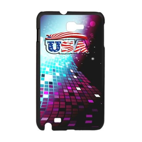 USA with beautiful, colorful background