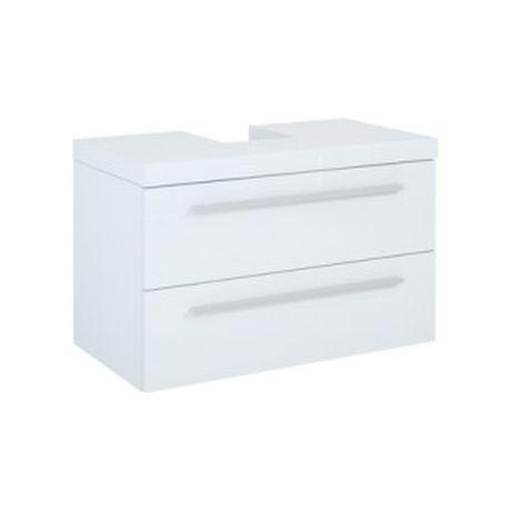 Blat naszafkowy ELITA KWADRO 100 z otworem, biały 163074