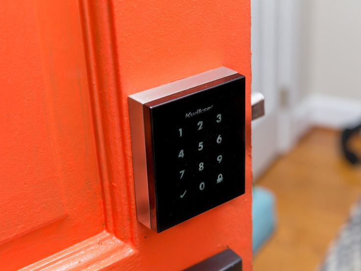 "C|NET | Add a sleek keyless lock to your front door: here's how. | ""The Kwikset Obsidian is an extreme example of keyless locks. The Obsidian's glossy face is square, black and completely blank until you activate is keypad making the mysterious glass obelisk than a standard lock."""