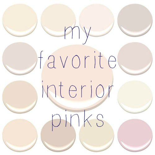 Best 25 blush pink paint ideas on pinterest benjamin for Benjamin moore pristine