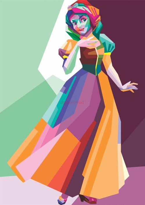 Snow White - The Art Of Animation, Indira Yuniarti http://theartofanimation.tumblr.com