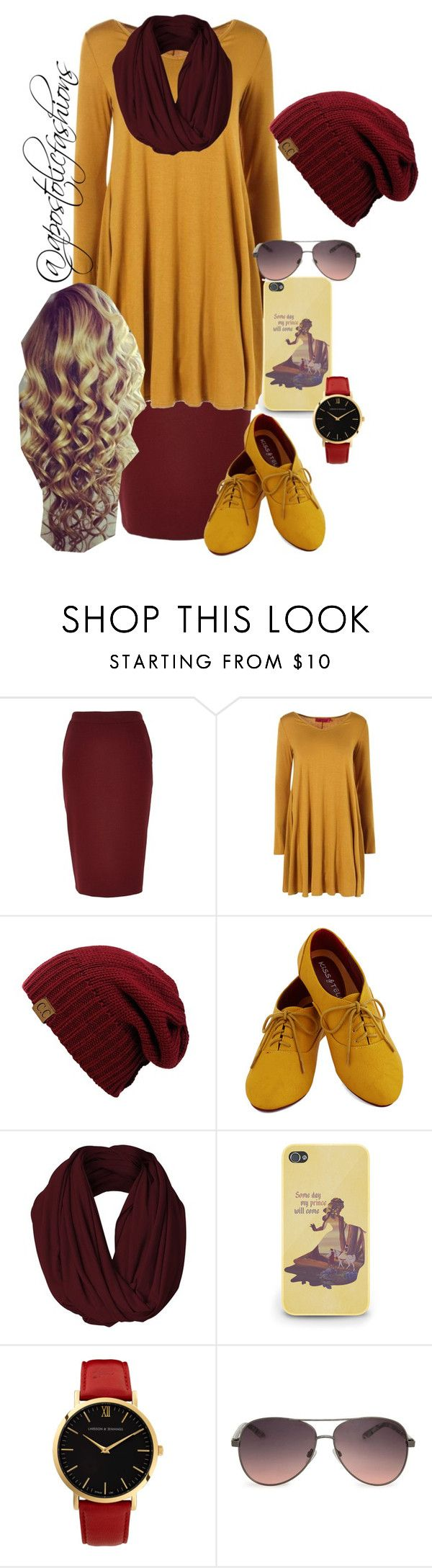 """Apostolic Fashions #915"" by apostolicfashions on Polyvore featuring River Island, Larsson & Jennings and MANGO"