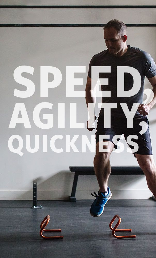 Speed, Agility and Quickness (SAQ) training improves your balance, makes your feet quicker, and speeds up your reaction time.