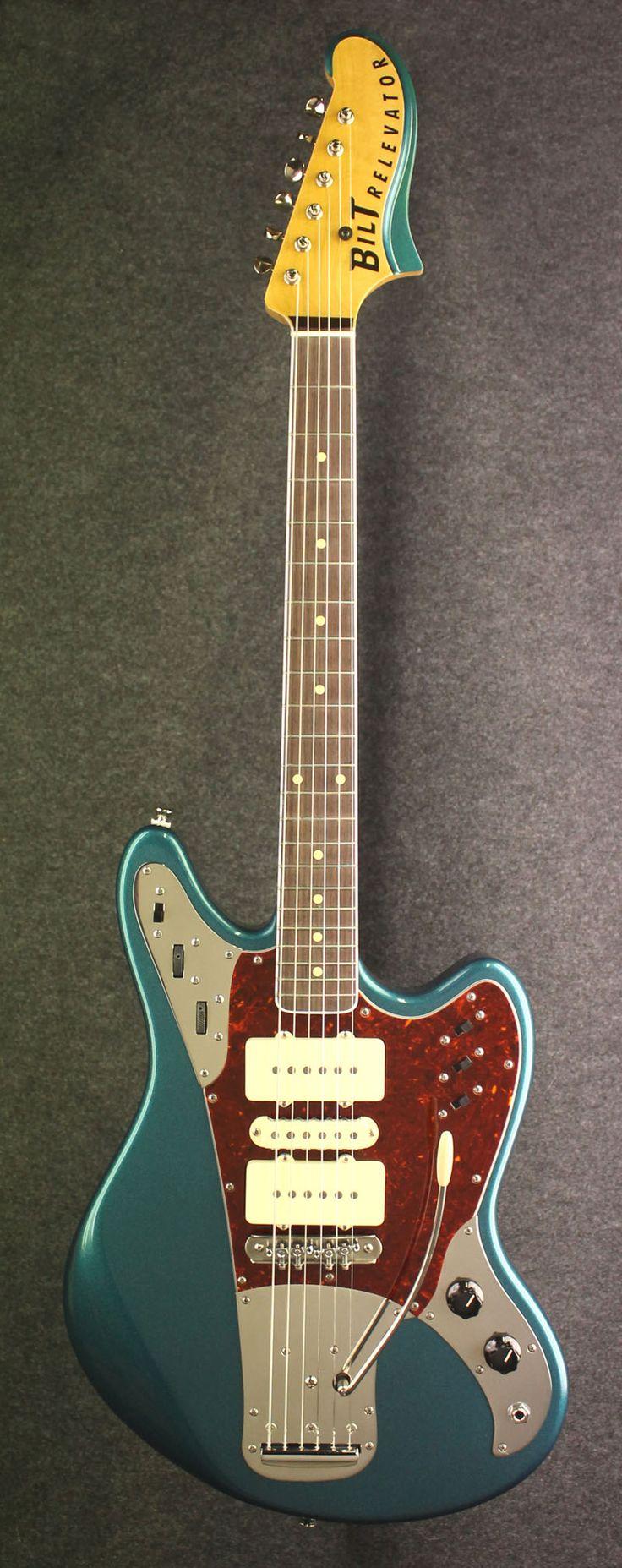 the relevator LS model guitar built by Bilt Guitars :: BilT Guitars - Des Moines, Iowa