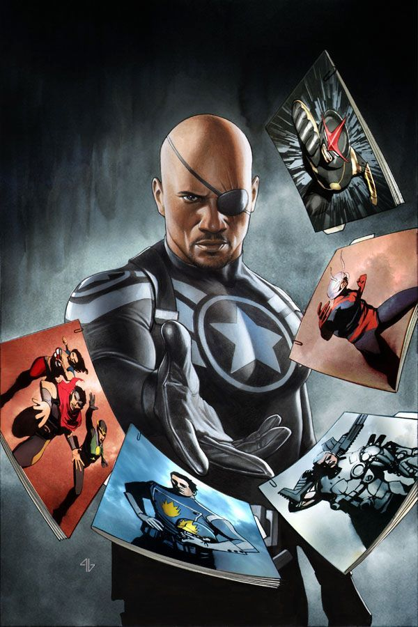 Nick Fury Jnr - bring back Nick Fury Snr.