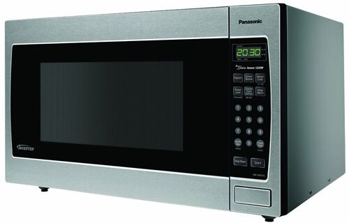 Panasonic NN-SN973S Stainless 2.2 Cu. Ft. Ledge/Built-In Microwave with Inverter Technology