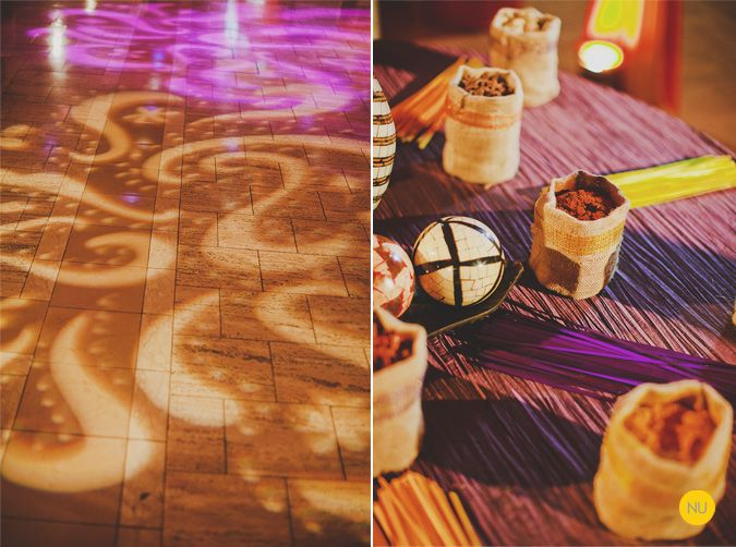 A sangeet coordinated by one of our favorite event planners: @QuintanaEvents !