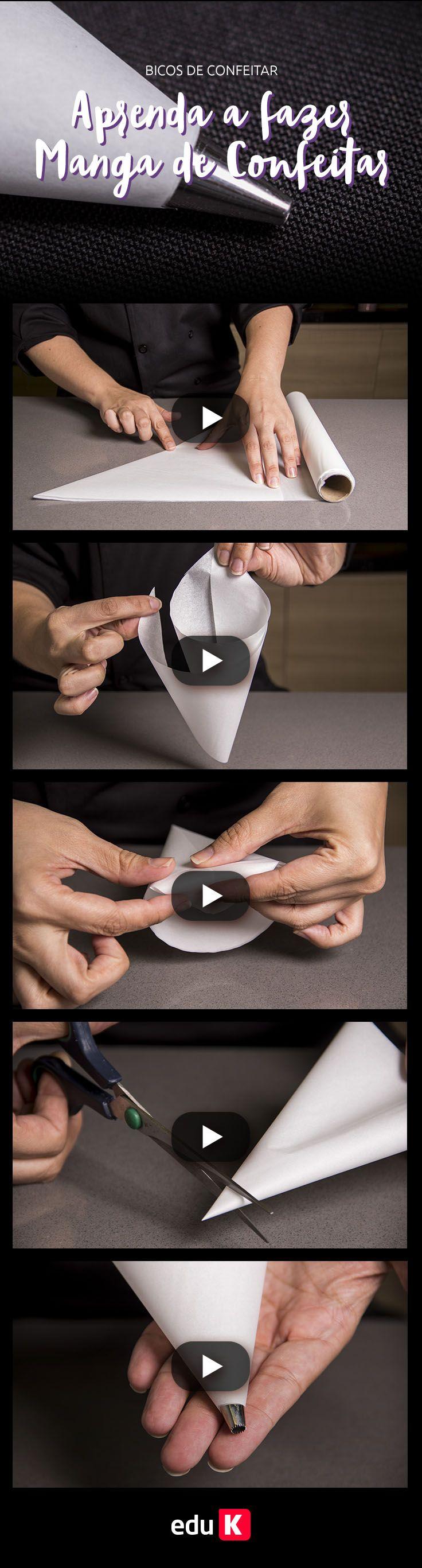 Aprendeu a fazer a manga de confeitar? Agora você pode aprender diferentes técnicas para usar e se diferenciar no seu negócio de confeitaria :) Clique na imagem e saiba quais são as principais tendências na decoração de doces!