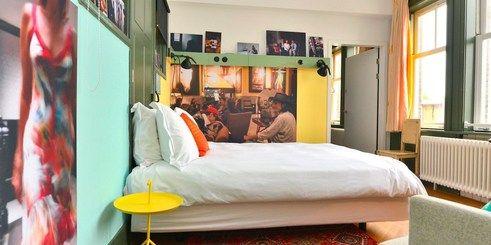 12 besten hotels in amsterdam bilder auf pinterest for Design hotel niederlande