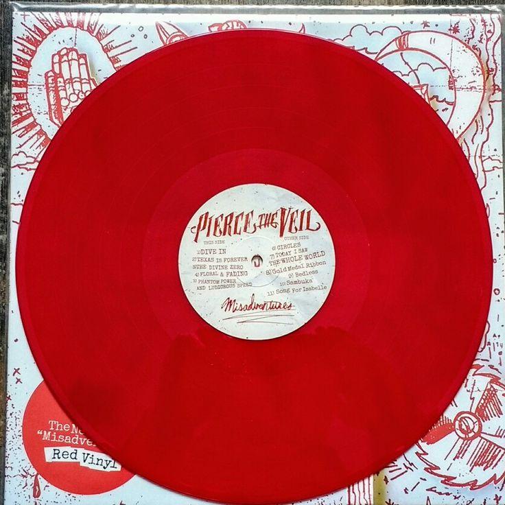 Pierce the Veil - Misadventures (Red LP) 2016