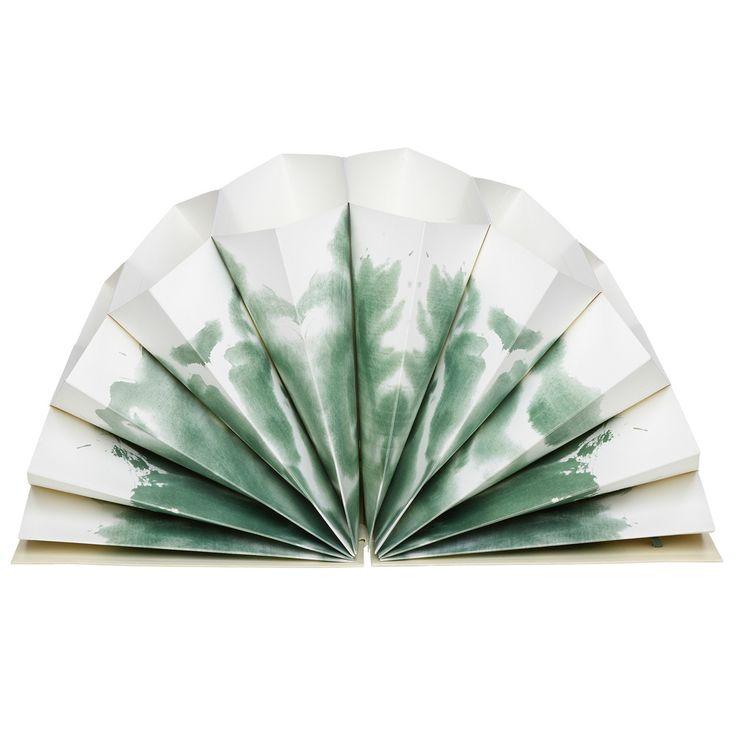 Hay plisse arkiv A5 grønn | Ting