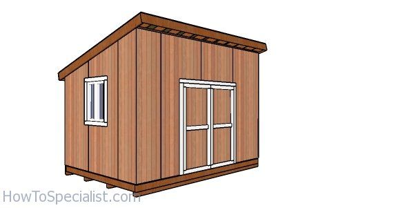 10 14 Lean To Shed Free Diy Plans In 2020 Lean To Shed Shed Shed Plans
