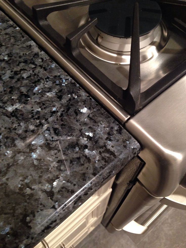 ... Pinterest Blue Pearl Granite, Blue Pearl and Antique White Cabinets