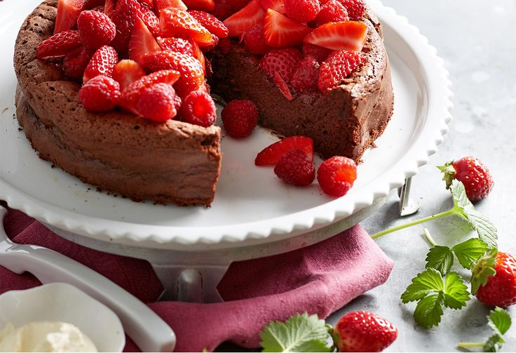A chocolate cake bursting with rich flavour, that's flourless and only has 3 ingredients - magic does exist!  This will become your new go-to classic bake...