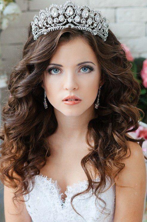 Best 25 Tiara hairstyles ideas on Pinterest