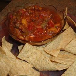 Eggplant Salsa and Homemade Pita Chips - Allrecipes.com