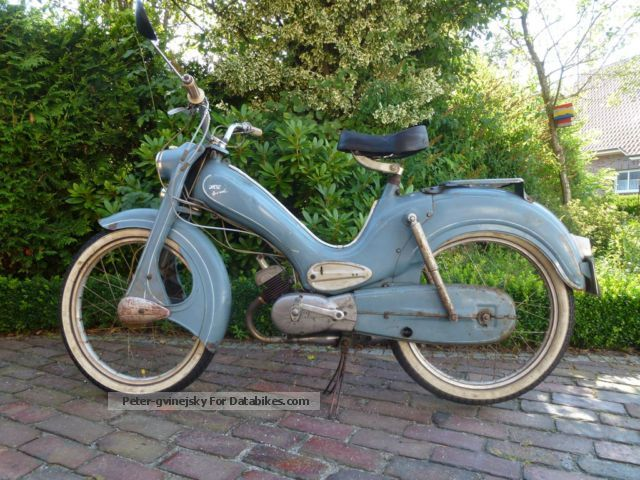 DKW  Hummel 1958 Vintage, Classic and Old Bikes photo