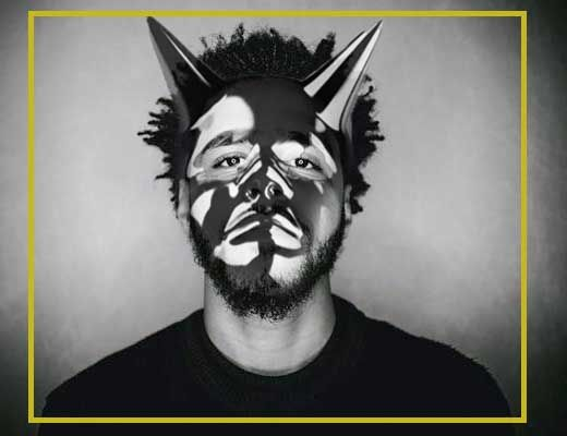 Wallpaper J Cole, afgeleid van zijn album cover born sinner ; http://upload.wikimedia.org/wikipedia/en/f/fa/J_Cole_Born_Sinner3.jpg