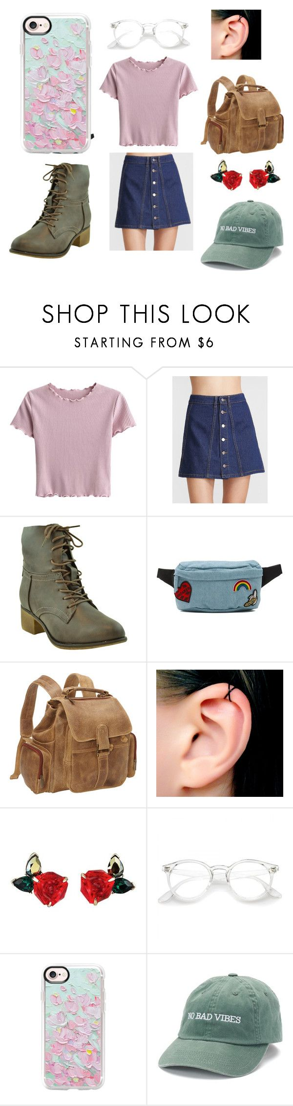 """No Bad Vibes"" by legendofchelda on Polyvore featuring Vans, Le Donne, Casetify, cute, pretty and nobadvibes"
