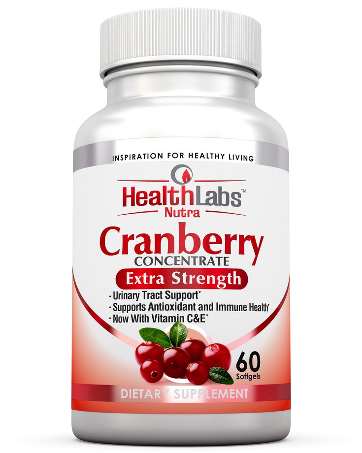 Health Labs Nutra 50:1 Triple-Strength Cranberry Concentrate with Vitamins C & E – Promotes Urinary Tract and Immune Support (60 Fast-Acting Softgels) https://www.amazon.com/Health-Labs-Nutra-Triple-Strength-Concentrate/dp/B01M1CO34T/