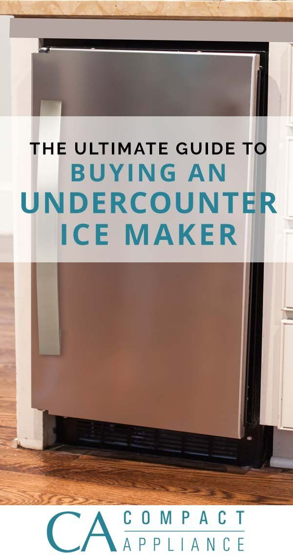 Before you buy a new built-in or undercounter ice maker, check out our guide that covers everything you should consider to find the best ice machine for your home.