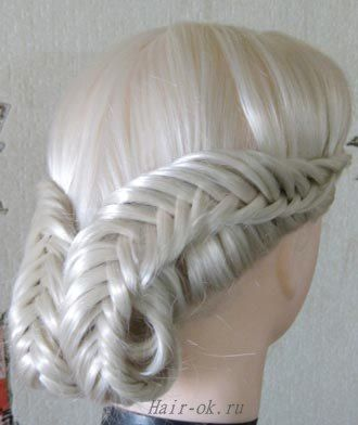 perimeter fishtail turned and formed to roll