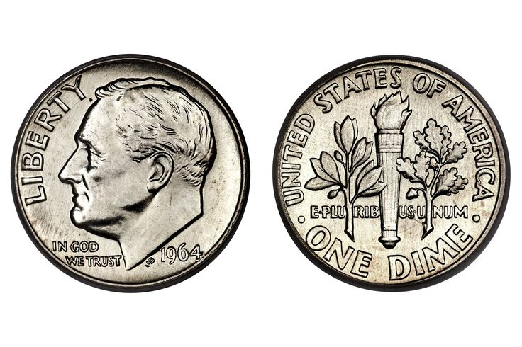 Looking to see how much your Roosevelt Silver Dime is worth? This page has coin values and prices for Roosevelt Silver Dimes minted from 1946 to 1964.