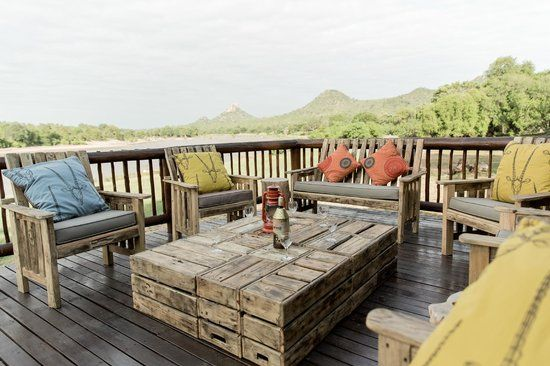 Sit back and relax at the deck of River Lodge looking over the Olifants River. #SefapaneMagic