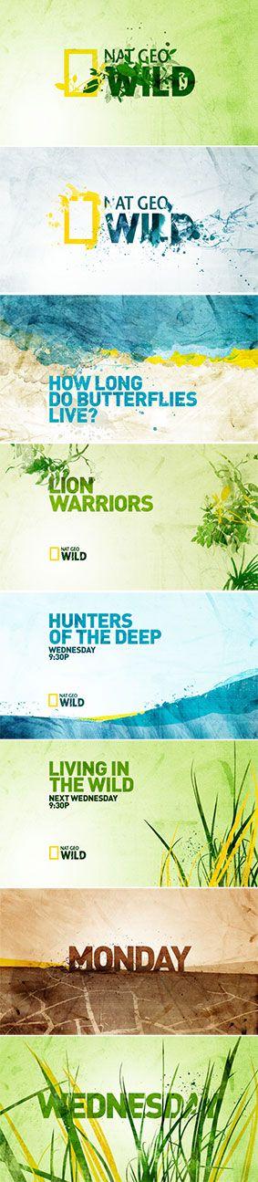 Nat Geo Wild on air branding 2