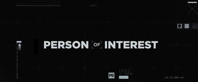 I was hired on by Imaginary forces as a freelance art director/designer to help with the look and vision of the opening title sequence to the show Person of Interest.  Here is the final product and below a link to some of the actual working photoshop design frames.  http://ashthorp.com/person-of-interest