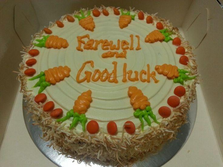 Good ol' Carrot Cake