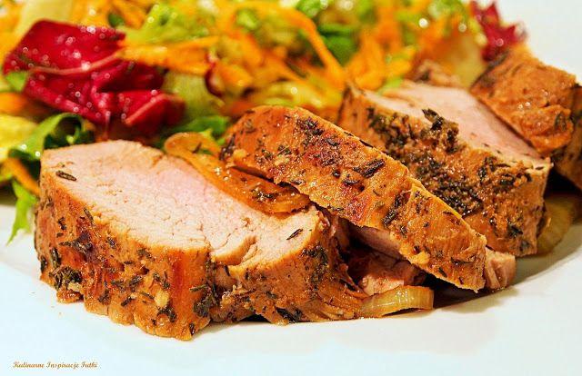 Kulinarne Inspiracje Futki: Soczysta polędwiczka wieprzowa pieczona w rękawie