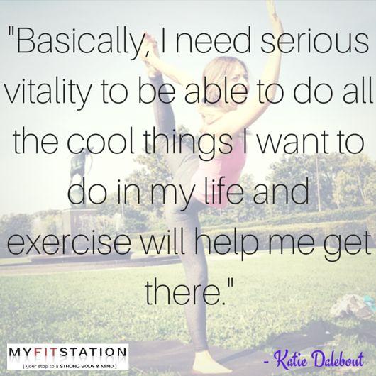Healing Exercises for the #mindbodyspirit via MFS's Fit Babe Spotlight Series - www.myfitstation.com #inspiration