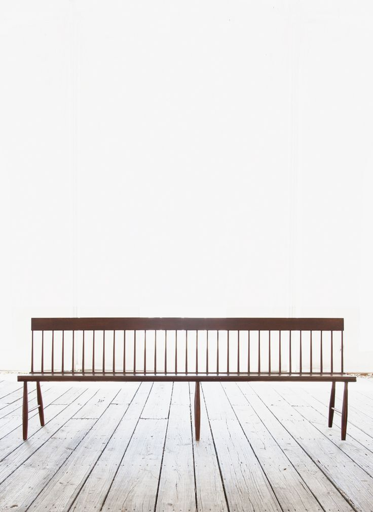 Willis Henry Auctions. shaker meetinghouse bench.