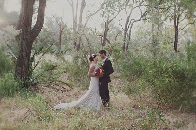 Unique Wedding In Australia Filled With Giant Love Letters