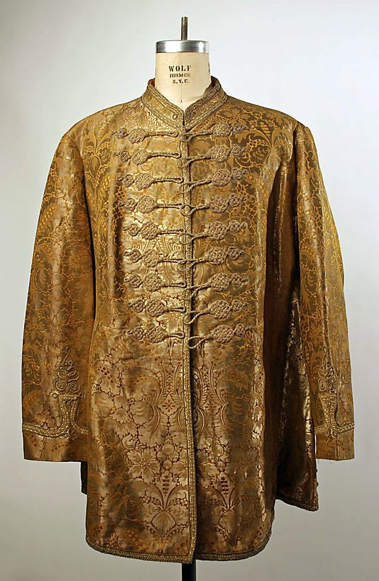 Coat Date: ca. 1848 Culture: Hungarian Medium: silk, metallic thread