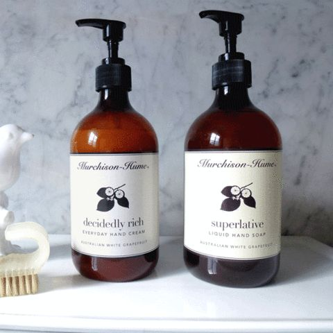 This hand wash doesn't dry your skin and contains no triclosan – Evolution Emptor $21.95. Refills also available.