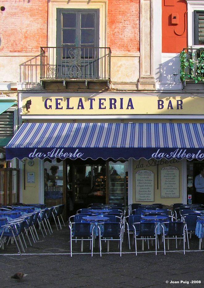 Bar Pasticceria Gelateria da Alberto - Capri, Italy