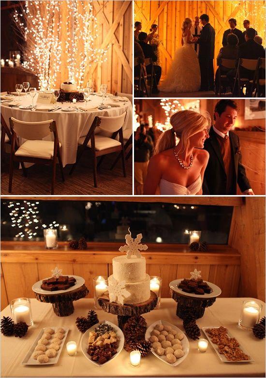 romantic country barn theme