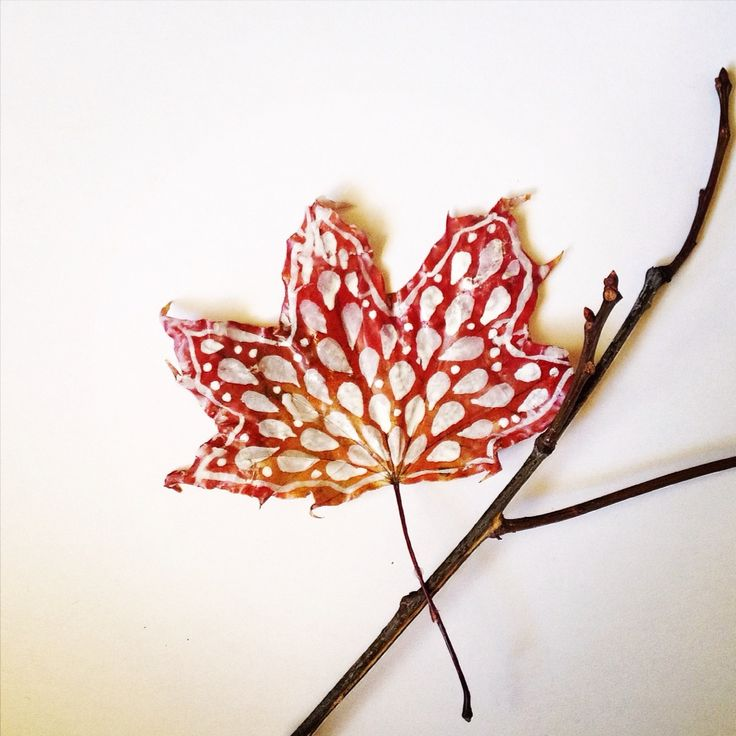 Leaves power  #interesting #art #leaves #paint #free #inspiration #powerful #waxthat #preserve #forever #autumn #pinterest #diy