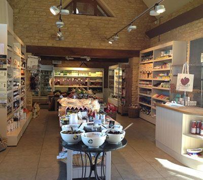 Cotswold Food store - deli and cafe (12 minute drive from Upper Slaughter)