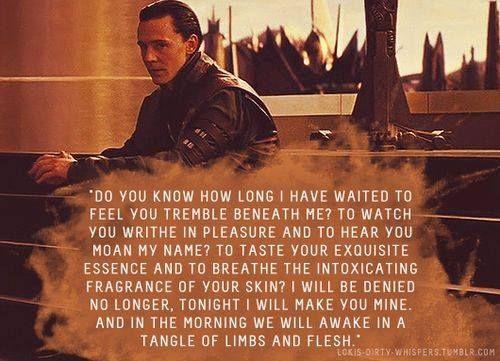 yessss ♥ Loki's Dirty Whispers