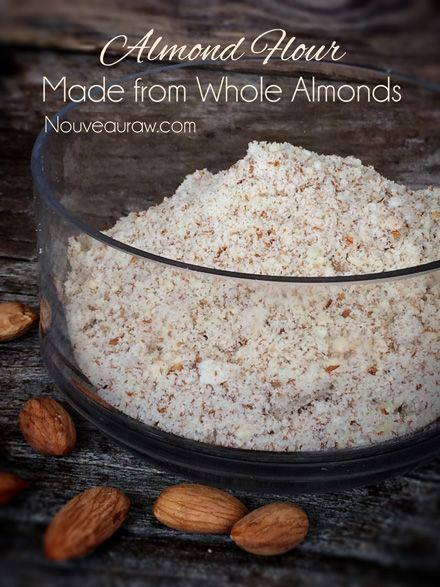 Almond Flour (made from whole almonds)