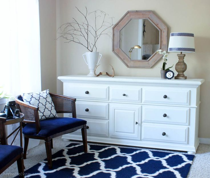 17 best ideas about navy white bedrooms on pinterest blue headboard beautiful bedrooms and. Black Bedroom Furniture Sets. Home Design Ideas