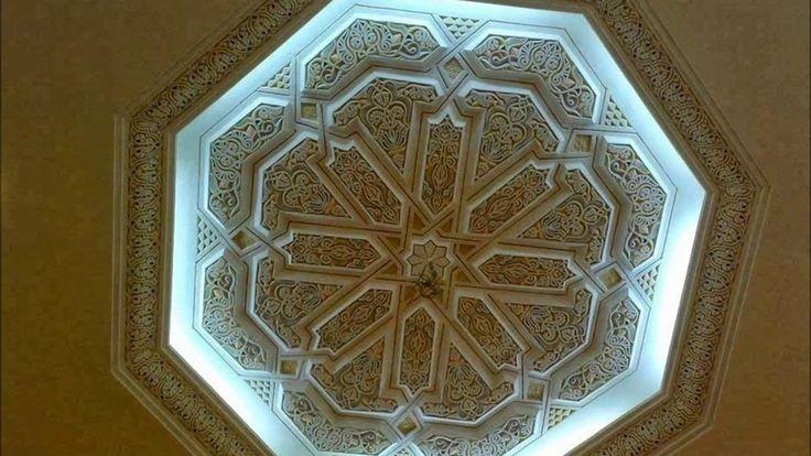 Le plâtre et faux plafond الجبص و ديكور السقف (farisdecor maroc)  #Decor #Intérior #Extérior #Floor #Wall #Ceiling #Morocco