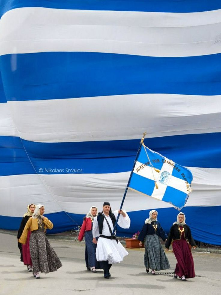 Independence Day, March 25, 2013 - Kalymnos Island, Greece