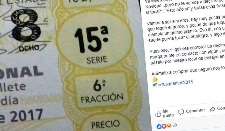 Grupo Mascarada Carnaval: La 'sincera' manera de vender la Lotería de Navida...
