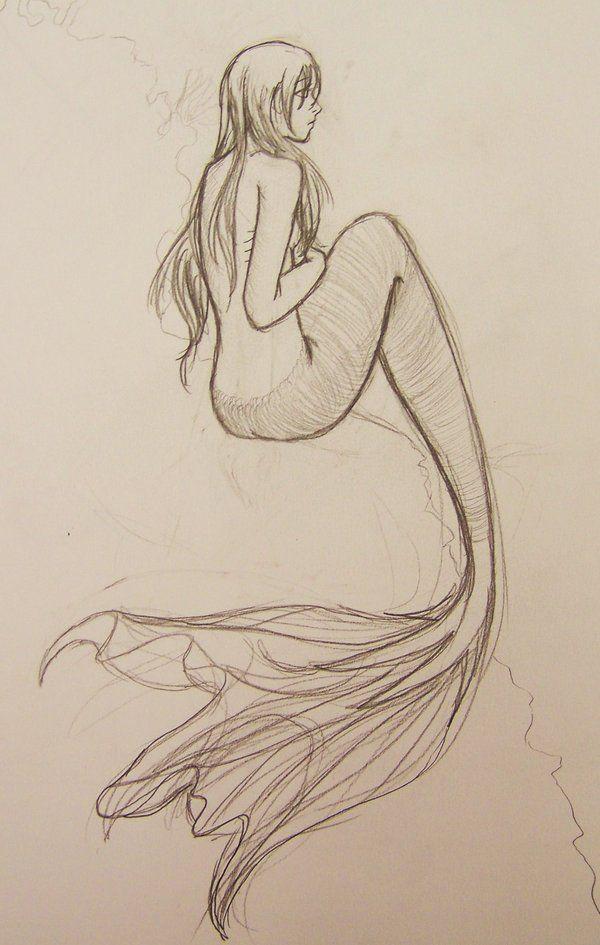 mermaid von ~ Nseiki102 auf deviantART – Ich liebe die Flosse auch hier   – posen