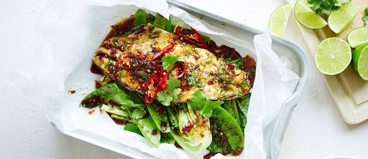 Lorna Jane Clarkson shares her Asian-inspired fish